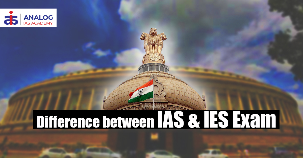 Difference between IAS and IES